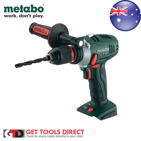 metabo 18v cordless drill driver bs18skltx ebay. Black Bedroom Furniture Sets. Home Design Ideas